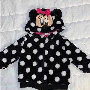 Disney baby six month Minnie mouse polkadot jacket